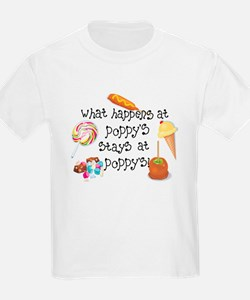 What Happens at Poppy's... T-Shirt