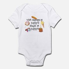 What Happens at Poppy's... Funny Baby Onesie