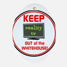 Keep Trump & reality TV out of the Whitehouse Oval