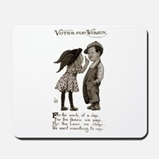 Women's Voting Rights Mousepad