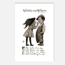 Women's Voting Rights Postcards (Package of 8)