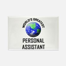 World's Greatest PERSONAL ASSISTANT Rectangle Magn