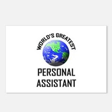 World's Greatest PERSONAL ASSISTANT Postcards (Pac