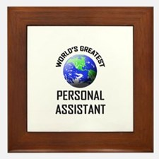 World's Greatest PERSONAL ASSISTANT Framed Tile