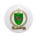 FOURNIER Family Crest Ornament (Round)