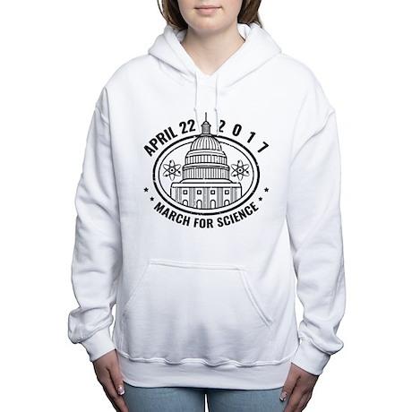 March For Science Women's Hooded Sweatshirt