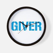 Giver Wall Clock