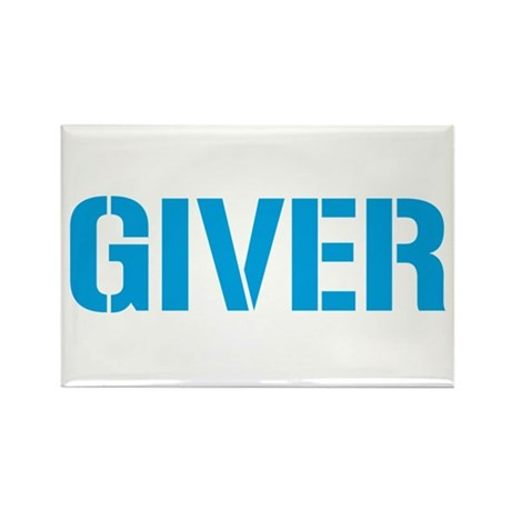 Giver Rectangle Magnet (10 pack)