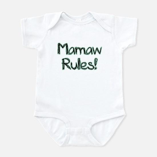 Mamaw Rules! Infant Bodysuit