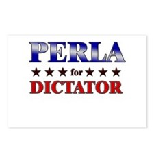 PERLA for dictator Postcards (Package of 8)