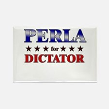 PERLA for dictator Rectangle Magnet