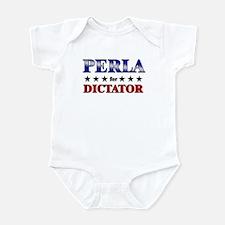 PERLA for dictator Infant Bodysuit