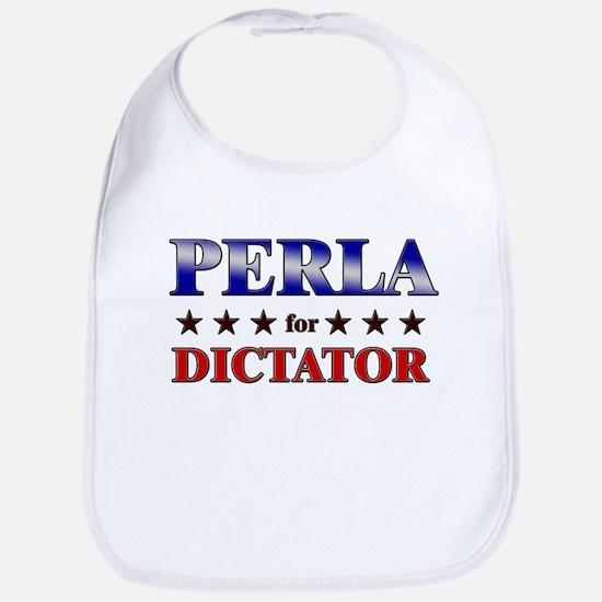 PERLA for dictator Bib