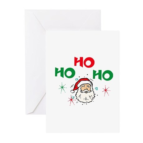 Ho, Ho, Ho! Greeting Cards (Pk of 10)