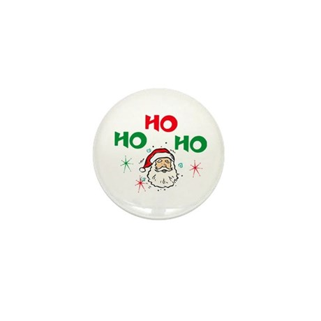 Ho, Ho, Ho! Mini Button (10 pack)
