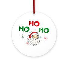 Ho, Ho, Ho! Ornament (Round)