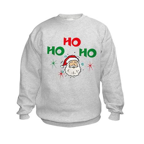 Ho, Ho, Ho! Kids Sweatshirt