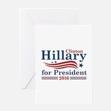 Hillary 2016 Greeting Card