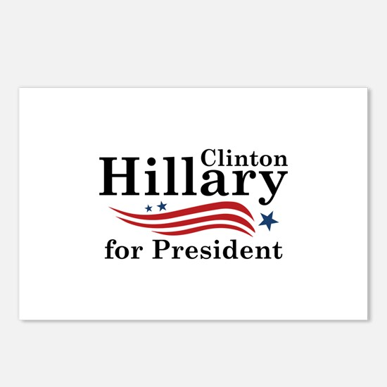 Hillary 2016 Postcards (Package of 8)