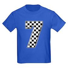Checkered #7 T