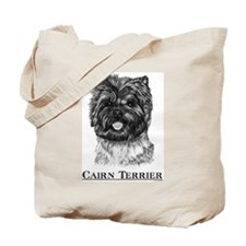 Cairn Terrier Dog Breed Tote Bag
