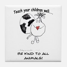 Teach your children well... Tile Coaster