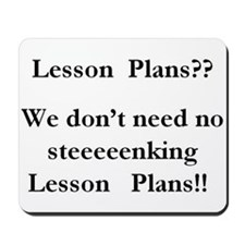 lesson plans Mousepad