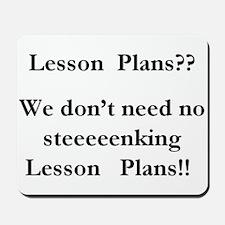 lesson plans Mousepad