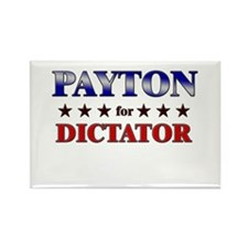 PAYTON for dictator Rectangle Magnet