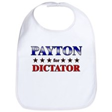 PAYTON for dictator Bib
