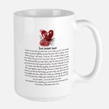 Toxic broken heart Mugs