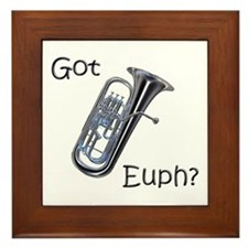 Got Euph? Framed Tile