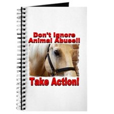 Don't ignore animal abuse... Journal