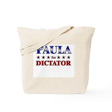 PAULA for dictator Tote Bag