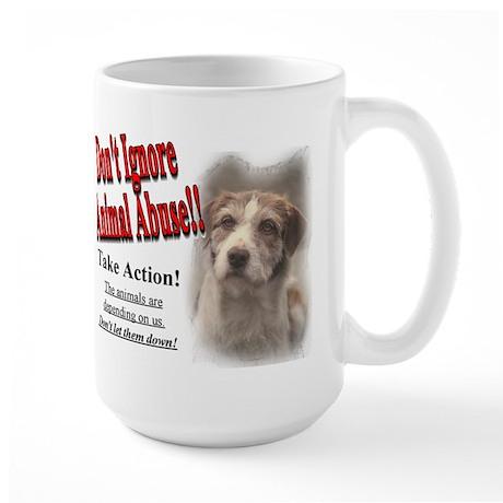 Don't Let Them Down! Large Mug (2-sided)