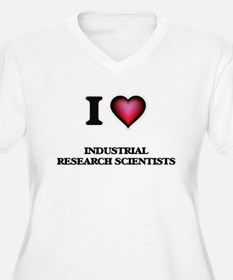 I love Industrial Research Scien Plus Size T-Shirt