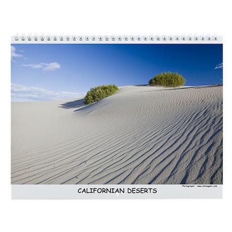 Californian Deserts Wall Calendar