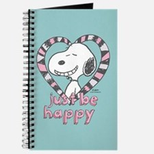 Snoopy Just Be Happy Full Bleed Journal