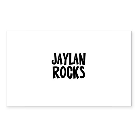 Jaylan Rocks Rectangle Sticker