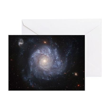 Spiral Galaxy II Greeting Card
