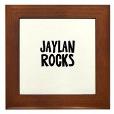Jaylan Rocks Framed Tile