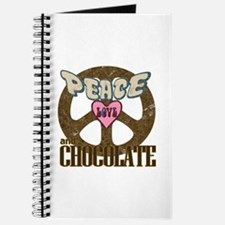 Peace Love and Chocolate Journal