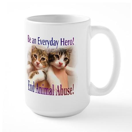 Be an Everyday Hero... Large Mug (2-sided)