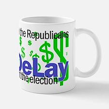 Tom DeLay buying elections Mug