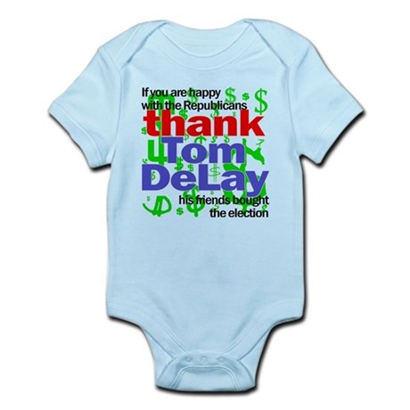 Tom DeLay buying elections Infant Creeper