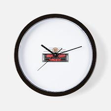 Motor City Retro Wall Clock