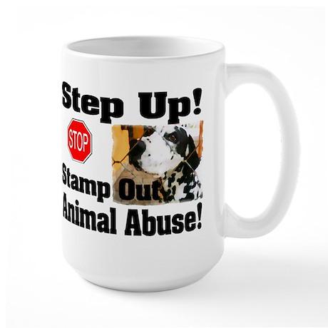 Step Up! Large Mug (2-sided)