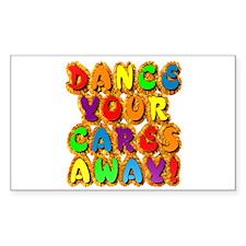 Furry Dance Rectangle Decal