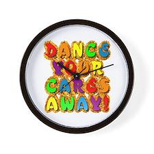 Furry Dance Wall Clock