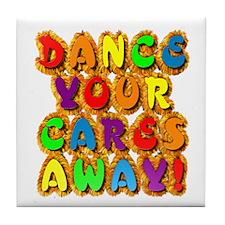 Furry Dance Tile Coaster